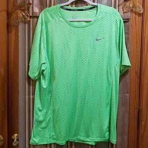 Nike Dri-Fit Lime Green Shirt